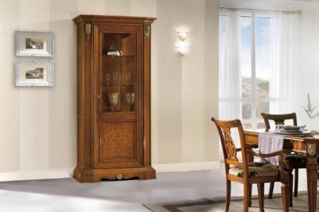 vetrina  intarsiata 1 porta