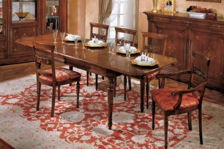 tavolo rettangolare allungabile con piano
