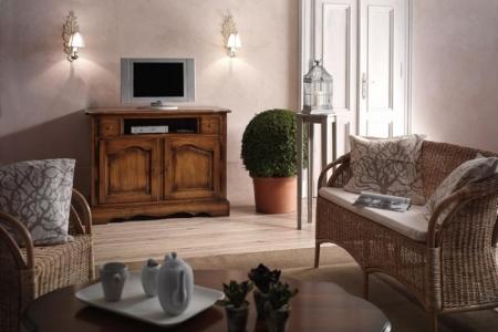 porta tv classico colore noce