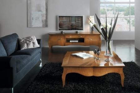 tavolino colore ciliegio