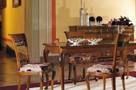 tavolo allungabile colore noce