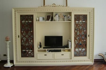 porta tv classico villa fascinato