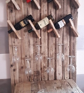mobile porta bottiglie
