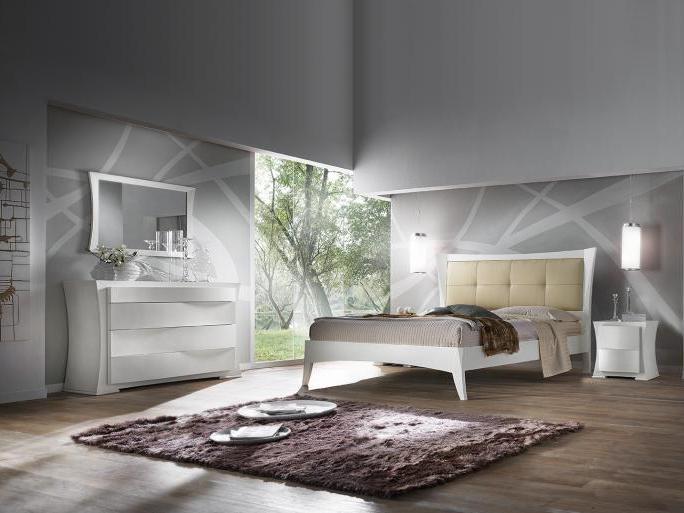 Camera da letto in stile moderno
